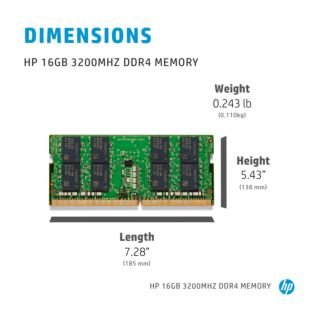 HP 8 GB 3200MHz DDR4 Memory