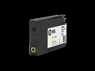 HP 955 黃色原廠墨水盒