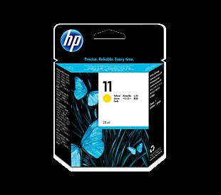 HP 11 黃色原廠墨盒