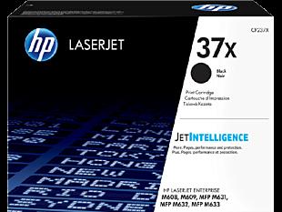 HP 37X 高打印量黑色原廠 LaserJet 碳粉盒