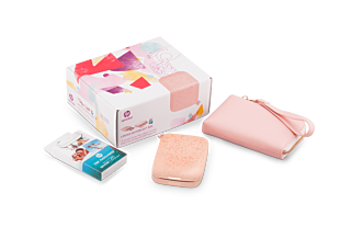 Gift Box - HP Sprocket Photo Printer (New Edition)- Blush-Pink