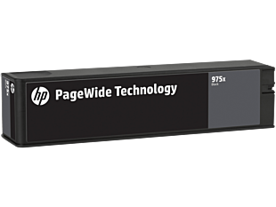 HP 975X 高打印量黑色原廠 PageWide 墨水盒