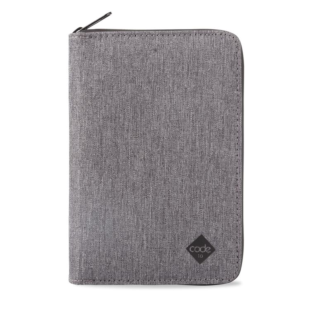 Code 10 Travel Wallet (grey)