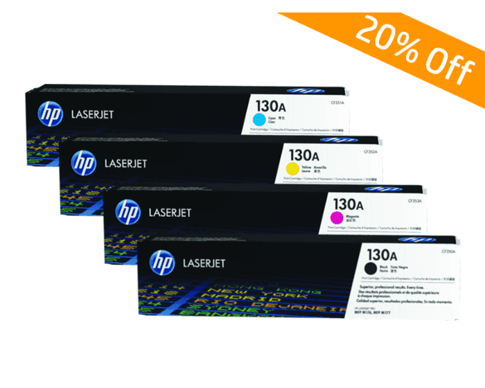 HP Online Promotion- 130A Package discount