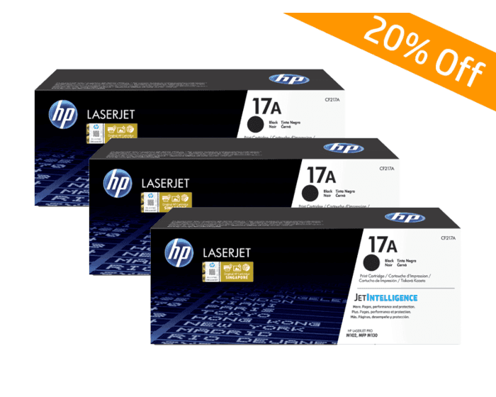 HP Online Promotion- 17A Package discount