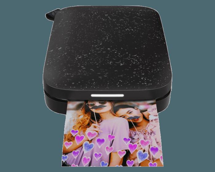 HP Sprocket Photo Printer (New Edition)- Noir-Black