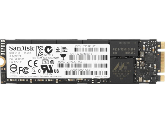 HP PCIe NVME TLC 256GB SSD M.2 硬碟
