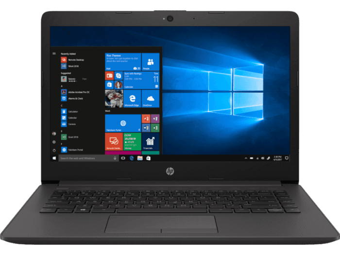 HP 240 G7 筆記簿型電腦