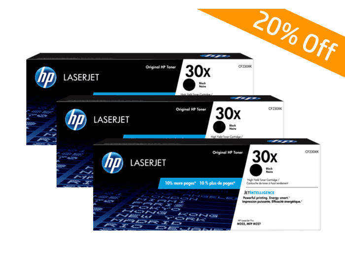 HP Online Promotion- 30X Package discount