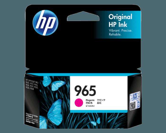 HP 965 洋紅原廠墨盒