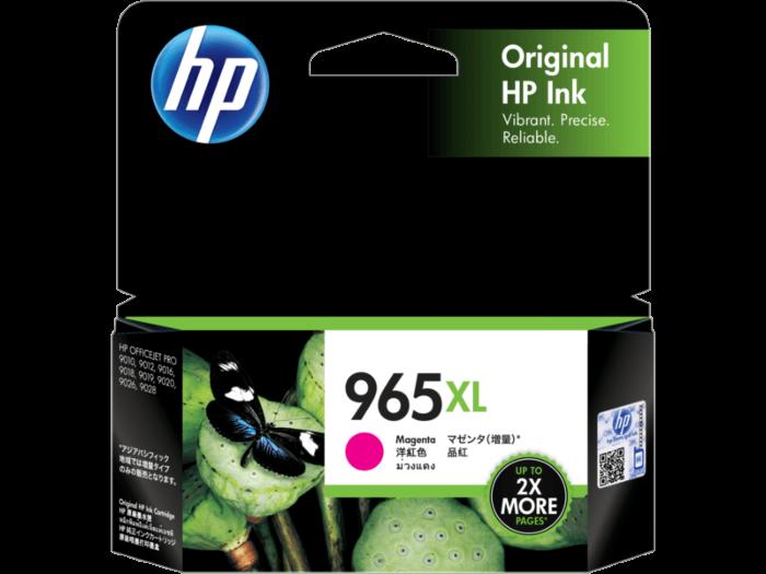 HP 965XL 高打印量洋紅原廠墨盒