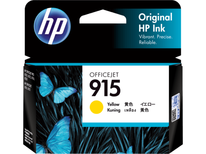 HP 915 Yellow Original Ink Cartridge
