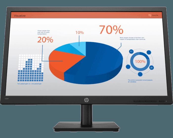 HP V22021.5 吋顯示器