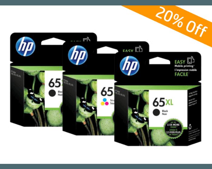 HP 65XL 黑色原廠墨盒