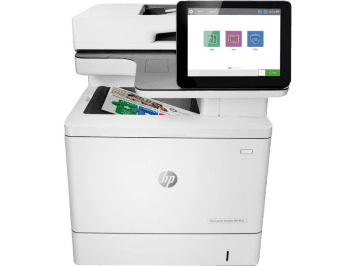 HP Color LaserJet Enterprise 多功能打印機 M578dn