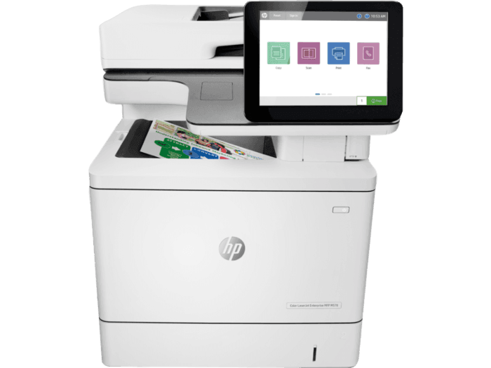 HP Color LaserJet Enterprise 多功能打印機 M578f