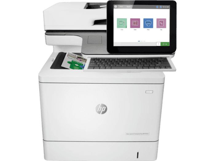 HP Color LaserJet Enterprise Flow 多功能打印機 M578z