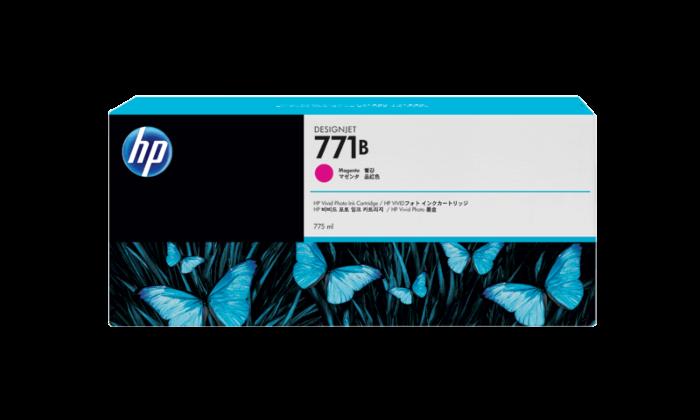 HP 771B 775-ml 洋紅色 DesignJet 油墨盒