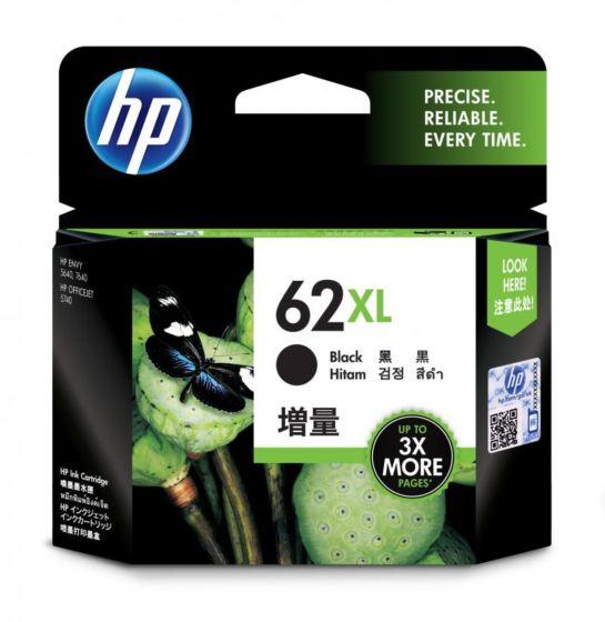 HP 62XL 高打印量黑色原廠墨盒