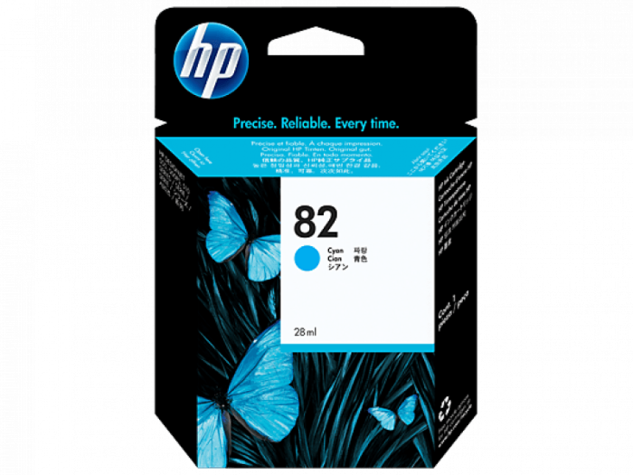 HP 82 69-ml Cyan DesignJet Ink Cartridge
