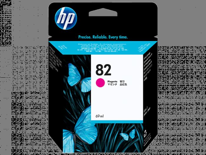 HP 82 69-ml Magenta DesignJet Ink Cartridge