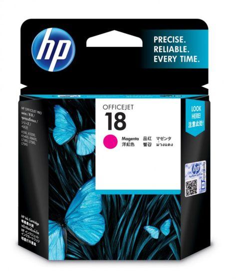 HP 18 洋紅原廠墨盒