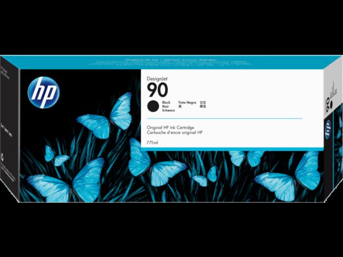 HP 90 775-ml Black DesignJet Ink Cartridge
