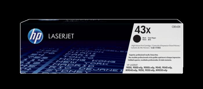 HP 43X High Yield Black Original LaserJet Toner Cartridge