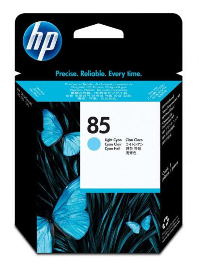 HP 85 淺綻藍色 DesignJet 打印頭