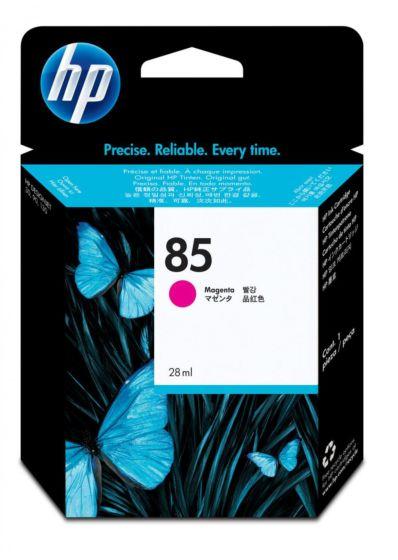 HP 85 28-ml 洋紅色 DesignJet 油墨盒