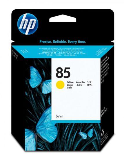 HP 85 69-ml 黃色 DesignJet 油墨盒