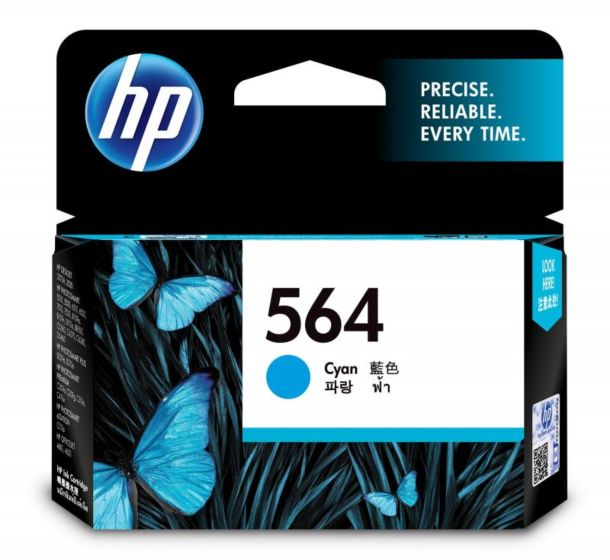 HP 564 綻藍原廠墨盒