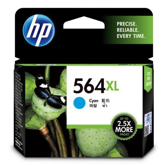 HP 564XL 高容量綻藍原廠墨盒