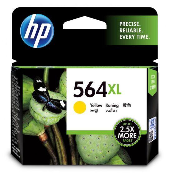 HP 564XL 高容量黃色原廠墨盒