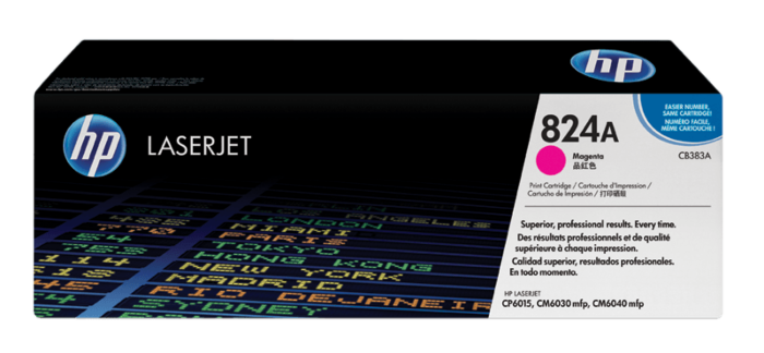 HP 824A 洋紅原廠 LaserJet 碳粉盒