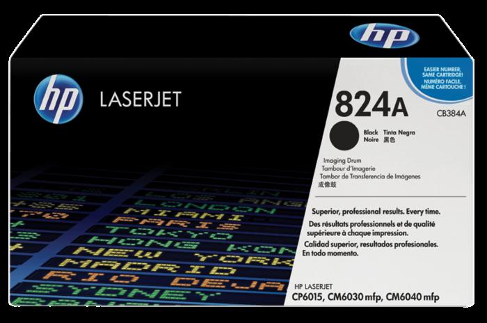 HP 824A 黑色 LaserJet 影像硒鼓