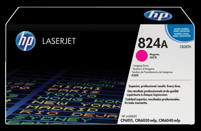 HP 824A 洋紅 LaserJet 影像硒鼓