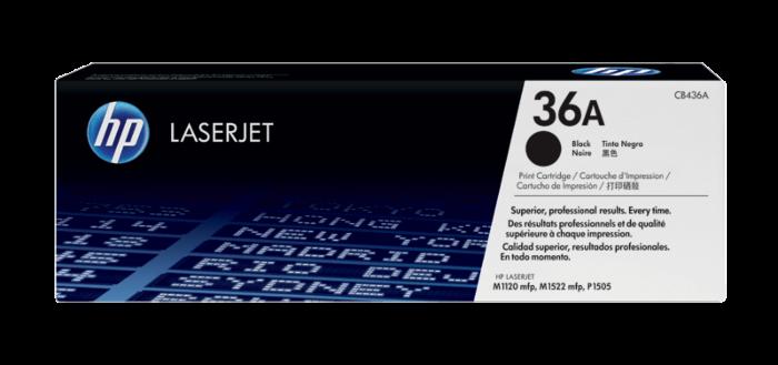 HP 36A LaserJet 黑色原廠碳粉匣