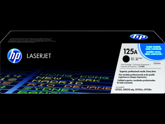 HP 125A Black Original LaserJet Toner Cartridge