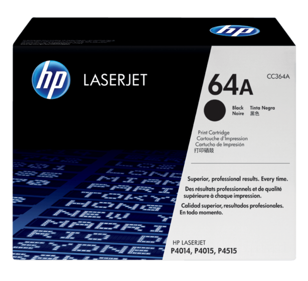 HP 64X 高容量黑色原廠 LaserJet 碳粉盒