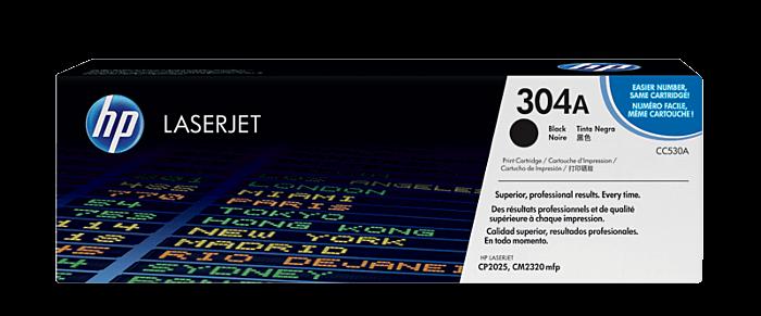 HP 304A 黑色原廠 LaserJet 碳粉盒