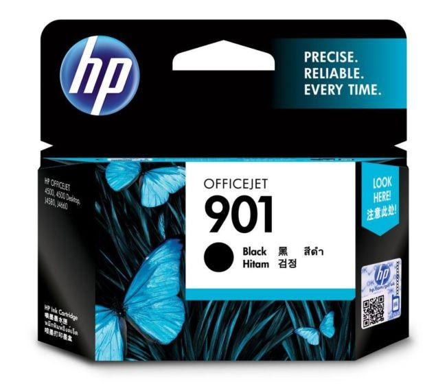 HP 901 黑色原廠墨盒