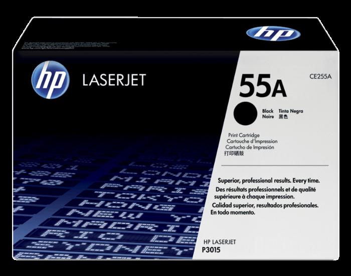 HP 55A 黑色原廠 LaserJet 碳粉盒