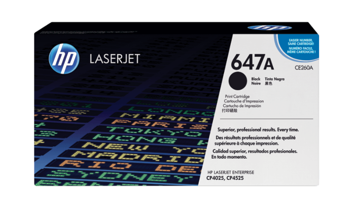 HP 647A Black Original LaserJet Toner Cartridge