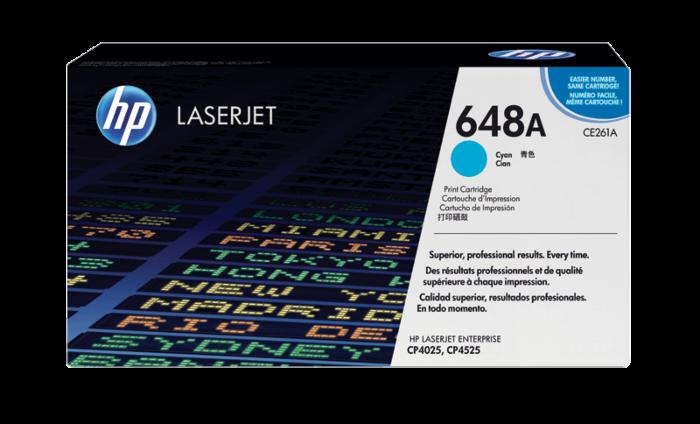 HP 648A 綻藍原廠 LaserJet 碳粉盒