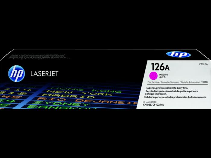 HP 126A 洋紅原廠 LaserJet 碳粉盒