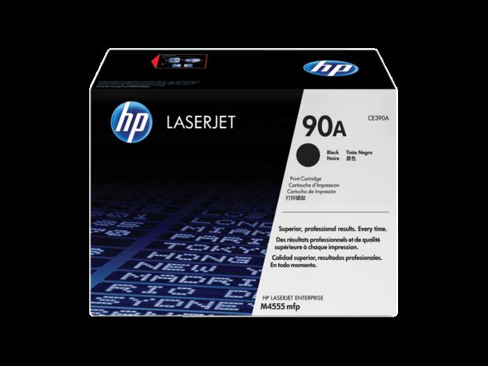 HP 90A 黑色原廠 LaserJet 碳粉盒
