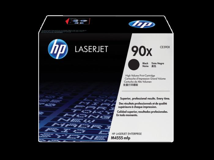 HP 90X 高容量黑色原廠 LaserJet 碳粉盒