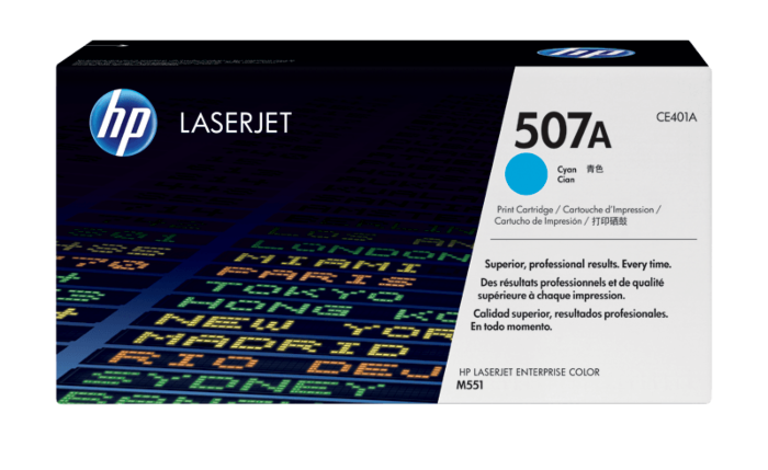 HP 507A 綻藍原廠 LaserJet 碳粉盒