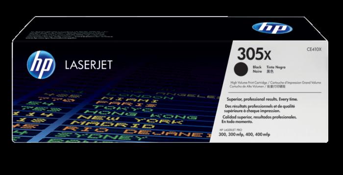 HP 305X 高容量黑色原廠 LaserJet 碳粉盒